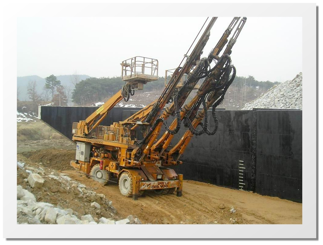 Jumbo drill specifications